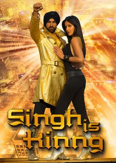 Singh Is Kinng - When a crazy turn of events places a kindhearted bumbler in charge of a mighty underworld gang, he tries using his new power for good.