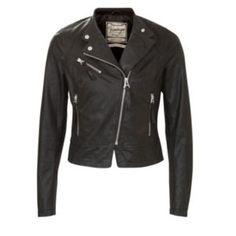 On trend biker jacket