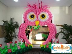 Owl Balloon Arch