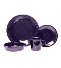 Product: Fiesta® Dinnerware 4-pc. Place Setting: Plum Color