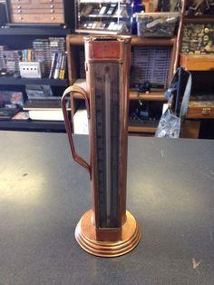 Antique American Copper Thermometer Liquor Spirits 10oz Primitive Measuring 282 | eBay