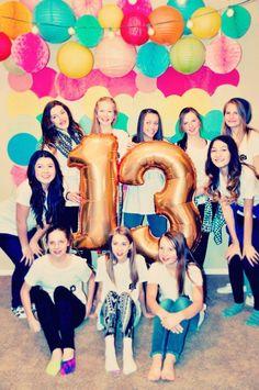 13 birthday balloon…