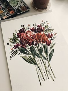 —- - Beautiful things created by passionate people. photography drawing painting studio design project i - Painting Inspiration, Art Inspo, Art Sketches, Art Drawings, Illustration Art, Illustrations, Guache, Irezumi, Painting & Drawing