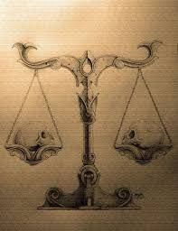libra scales tattoo - Google Search