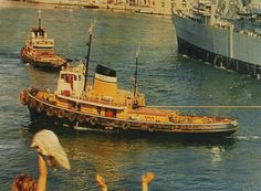"""In 1969 sold to Rea Towing Co. Liverpool and renamed """"Rossgarth"""".In 1972 she was sold to Mifsud Brothers (Malta Ship Towage) Ltd, Malta, retaining her name. In the same year she sailed from Liverpool for Malta where in 1973 she was registered."""