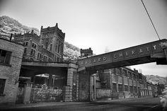 Hasard Cheratte (Coal Mine): an Abandoned Mine in Cheratte, Liège Belgium