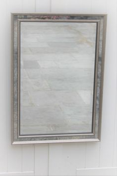 Silver Canal Bespoke Mirror - A silver leaf gilded frame surrounds decorative inner panels of our antiqued mirror glass, framing a bright central mirror. Antique Mirror Glass, Antiqued Mirror, Contemporary Mirrors, Bespoke, Bright, Traditional, Antiques, Frame, Silver