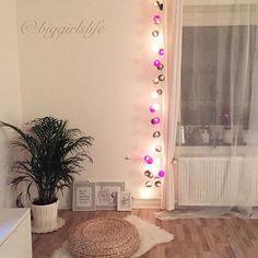 Mit diesem schönen Foto der lieben @biggirlslife beginnen wir die neue Woche und wünschen euch allen einen guten Wochenstart! #good__moods #lichterkette #goodmoods #stringlights #home #homedecor #homedesign #decor #decoration