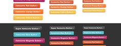 Free and Useful CSS3 Buttons Tutorials and Resources