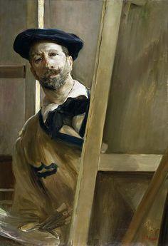 José Villegas Cordero - Self-Portrait [c.1898]    [Museo Nacional del Prado, Madrid]