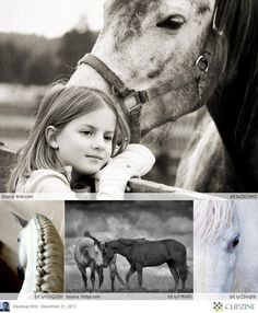 Horses with children just make everything worth it. Beautiful pairs of twin innocence.