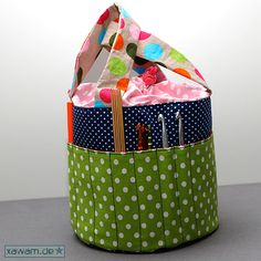 Xawam: Taschen-sew-along Februar- Ordnungshelfer Sewing Hacks, Sewing Crafts, Sewing Projects, Diy Mode, Vide Poche, Idee Diy, Crochet, Hamper, Organization