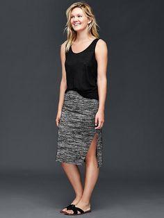 Marled midi skirt Product Image