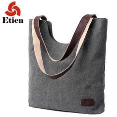 Bolsos de hombro de las mujeres bolso de la alta calidad de lona para las mujeres de señora bolsos de los bolsos de marcas famosas grandes señoras de bolso