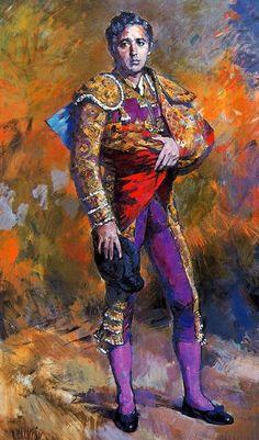 Ricardo Macarrón. (Madrid, 1926 - Riaza, Segovia, 2004 torero Paco Camino). Joaquín Sorolla Spanish Art, Spanish Culture, Eagle Pictures, Flamenco Dancers, Commercial Art, Mexican Art, Art Drawings, Street Art, Gallery