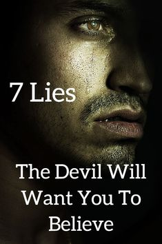 7 lies the will whisper in your ear whenever he can! Devil lies devils lies how to stop negative thoughts quotes 7 lies the devil wants you to believe gods truths Christian quotes satans lies demons life satan lies so true how to stop worrying about the f Christian Motivation, Christian Quotes, Christian Life, Devil Quotes, Jesus Quotes, Eye Facts, Understanding Anxiety, Stop Worrying, Quotes About God