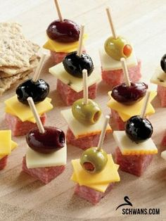 Party Kabobs Recipe - Make ahead appetizer! An adorable combination that. Sausage Party Kabobs Recipe - Make ahead appetizer! An adorable combination that. Sausage Party Kabobs Recipe - Make ahead appetizer! An adorable combination that. Make Ahead Appetizers, Finger Food Appetizers, Appetizers For Party, Sausage Appetizers, Toothpick Appetizers, Appetizers On Skewers, Easy Summer Appetizers, Picnic Finger Foods, Sausage Platter