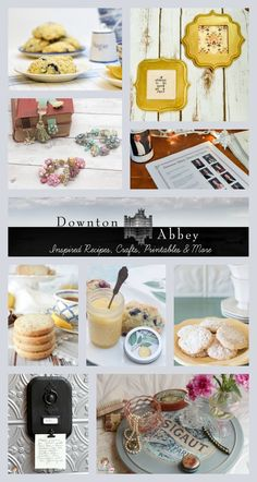 Downton Abbey party ideas, crafts, recipes, printables and more