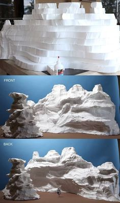 "Ever wonder how masterful mini mountains come to life? Stephen Hayford breaks it… Ever wonder how masterful mini mountains come to life? Stephen Hayford breaks it down into easy steps for this ""top secret"" project. Wonder what it could be for?"