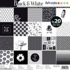 Papier Scrapbooking Artemio - Black