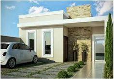 Resultado de imagem para fachadas de casas terreas