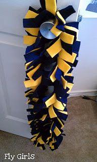 Fleece scarf tutorial