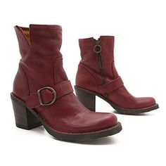 Cydwoq Bend Boot in Black / Red : Ped Shoes - Order online or 866.700.SHOE (7463).