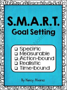 S.M.A.R.T. Goal Setting  from Teaching With Nancy  on TeachersNotebook.com -  (6 pages)  - Worksheets to help your students set academic goals.