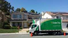 @Chris Miller got solar with SolarCity installed today. He was referred by @Roy Teller. Chris actually had an old broken solar system installed when he bought the house. Go figure, the company was out of business,  so he had no warranties and they messed up his roof  So he had to pay to get those taken off, and repair his roof.  Good news: now he's GOING GREEN and SAVING GREEN with me and SolarCity, a company that's going to be around to fix his system.