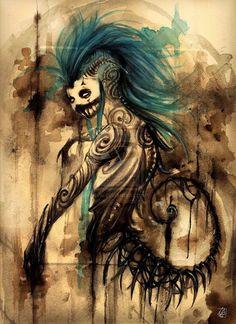 i like the blue hair ~Me