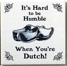Dutch Culture Magnet Tile (Humble Dutch)