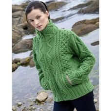 29 best womens irish sweaters images on pinterest irish sweaters soft merino wool beautifully crafted this handknit woolly hat has all the features of traditional knitting in one irish knitwear aran knitwear fandeluxe Gallery