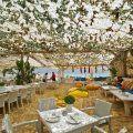 Panormos Taverna  Beach Bar - Panormos Beach, Mykonos, Greece - best taverna on the beach (15 minute drive from Ornos)