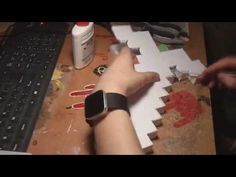 Minecraft Paper Sword hand made - YouTube