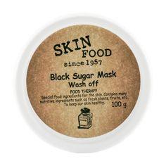 Maseczka z czarnego cukru firmy SKINFOOD :) Zawiera kompleks olejków i wysoką zawartość witamin. Zapobiega oznakom starzenia i utrzymuje odpowiedni poziom nawodnienia., pozostawiając skórę gładką i miękką :) Serdecznie zapraszamy!