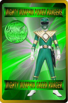 Mighty Morphin Green Ranger by rangeranime on @DeviantArt