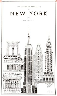 empire state building drawing google search. Black Bedroom Furniture Sets. Home Design Ideas