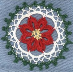 Picture of Christmas Through the Home Crochet Pattern