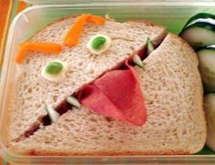 I suddenly feel the urge to make my son's lunch...