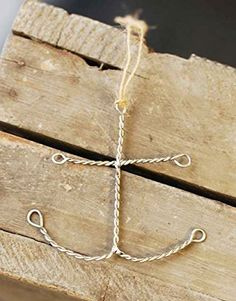 Twisted Metal Wire Nautical Anchor Ornaments - Set of 12 Lancaster Home & Holiday $24.00 fast free shipping!