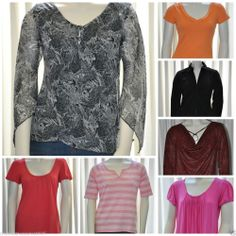 Lot of 7 Womens Shirts Size Small S New York  Co Ann Taylor AEO Talbots