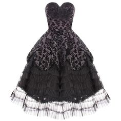 HELL BUNNY LAVINTAGE BLACK GOTH VICTORIAN STEAMPUNK MOURNING WEDDING DRESS WiTH EXCLUSIVE BLACKA MORE CARD: Amazon.co.uk: Clothing