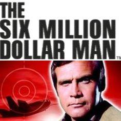 1973, The Six Million Dollar Man, California US #TheSixMillionDollarMan #BionicMan (L3601)