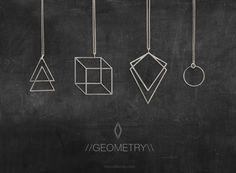 Geometry Jewelry Collection // moodlikeme.com