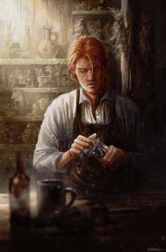Started rereading The Kingkiller Chronicles, so wanted to post Kote/Kvothe A Silence of three Parts, By Charlotte Kügler, I claim no rights to this. Medieval Fantasy, Dark Fantasy, Fantasy Art, Cthulhu, Dnd Characters, Fantasy Characters, Fantasy Inspiration, Character Inspiration, Fantasy Character Design