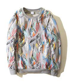 BTS SUGA Colorful Sweater