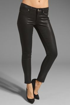 Paige Denim Verdugo Skinny in Black Silk from REVOLVEclothing