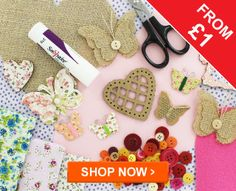 Craft Supplies - you can never have too much!