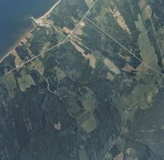 Aerial photo mosaic of Lismore, Pictou County (Nova Scotia)