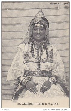 Algerian woman from Tlemcen